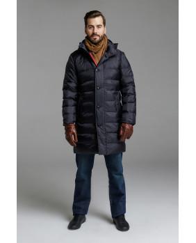 Стеганное пуховое пальто Igor Plaxa 5830-1